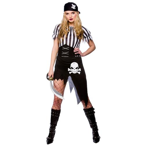 Shipwrecked-Sexy-Pirate-Ladies-Halloween-Fancy-Dress-Womens-Costume-Outfit-6-20