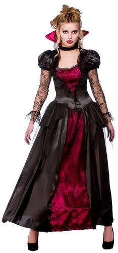 Deluxe-Vampire-Queen-6-28-Ladies-Halloween-Fancy-Dress-Womens-Vampiress-Costume