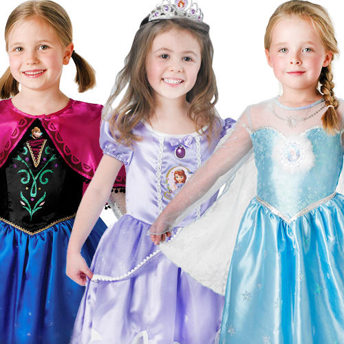 Deluxe-Disney-Princess-Frozen-Sofia-Fancy-Dress-Girls-Childrens-Childs-Costume