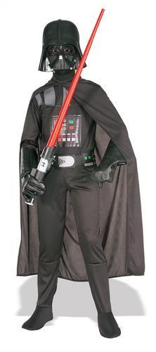 Darth Vader Boy/'s Star Wars Halloween Fancy Dress Kids Costume Child Outfit