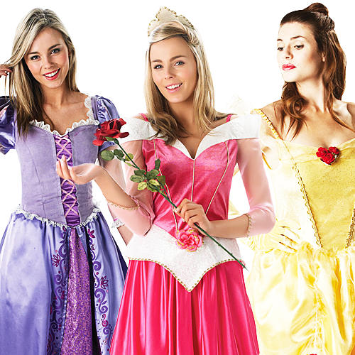 Simple  AdultWomenCostumeAccessoryDisneyPrincessHalloweenFancyDress