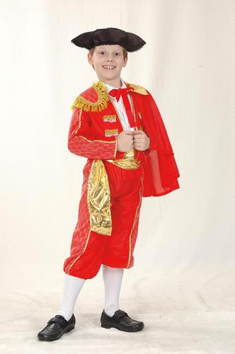 Spanish National Dress Kids Costumes Flamenco Matador ...