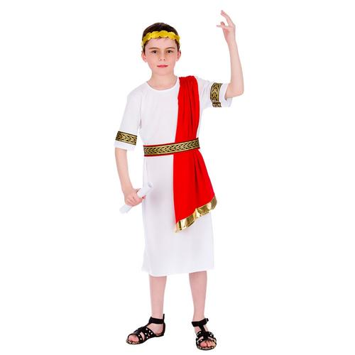 Roman-Emperor-Boys-Caesar-Fancy-Dress-Childs-Ancient-  sc 1 st  eBay & Roman Emperor Boys Caesar Fancy Dress Childs Ancient Rome Greek Kids ...