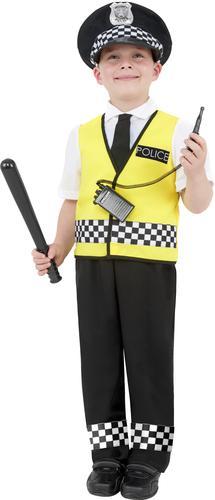 Police Man Boys Fancy Dress Kids Boys Policeman Cop Uniform Childrens Costume
