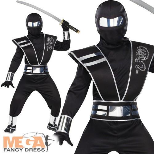 La imagen se está cargando Espejo,de,Plata,Ninja,chicos,Japones,Guerrero,elaborado,