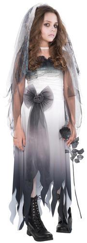 Zombie Girls Age 12-16 Fancy Dress Halloween Teen Kids Childs Party Costume New