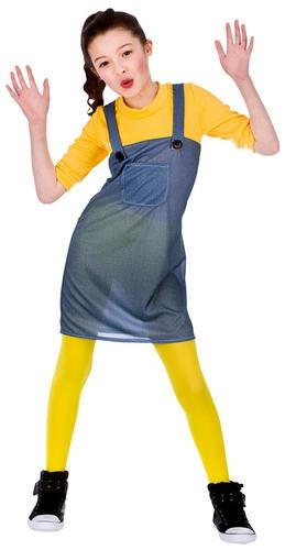 Malizioso Lavoratore Ragazze Minion Costume Bambini Cattivissimo Me Per Bambini Costume