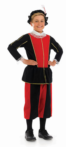 Tudor-Kids-Fancy-Dress-Renaissance-Girls-Boys-Childrens-Medieval-Costume-Outfit