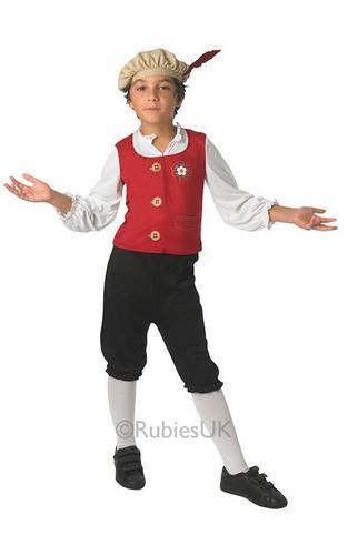 Tudor-Kids-Fancy-Dress-Renaissance-Girls-Boys-Childrens-Medieval-Costume-Outfit