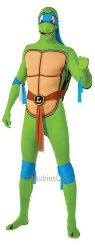 Teenage Mutant Ninja Turtle Da Uomo Costume Supereroe Costume Adulto TMNT