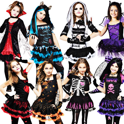 image is loading 2014 halloween girls fancy dress horror monster skeleton - Skeleton Halloween Costume For Kids