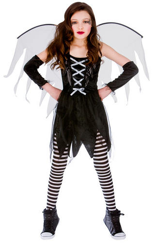 halloween girls fancy dress up horror vampire fairy - Halloween Girl Dress Up