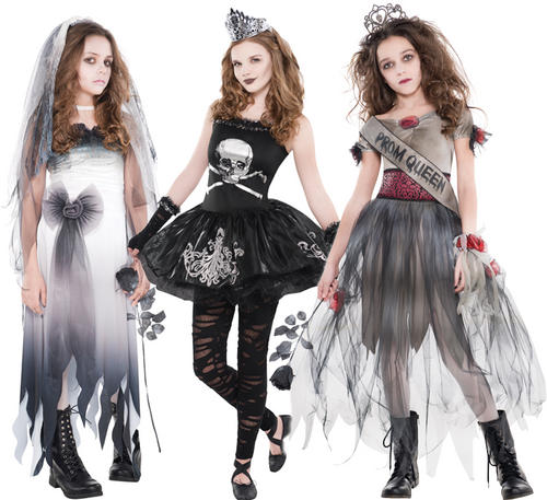 zombie girls age 12 16 fancy dress halloween