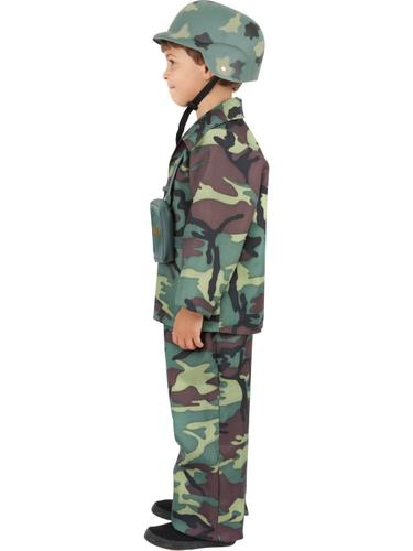 Toy Soldiers For Boys : Kids army boy fancy dress toy soldier uniform childrens