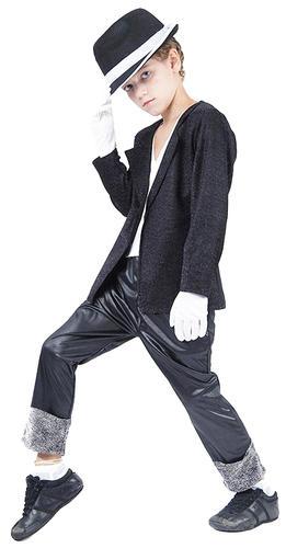 Cappello Ragazzi Costume Billie Jean Costume Bambino Superstar 80s Michael Jackson