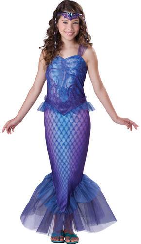 Mermaid-Princess-Girls-Fancy-Dress-Fairy-Tale-Book-  sc 1 st  eBay & Mermaid Princess Girls Fancy Dress Fairy Tale Book Week Childrens ...
