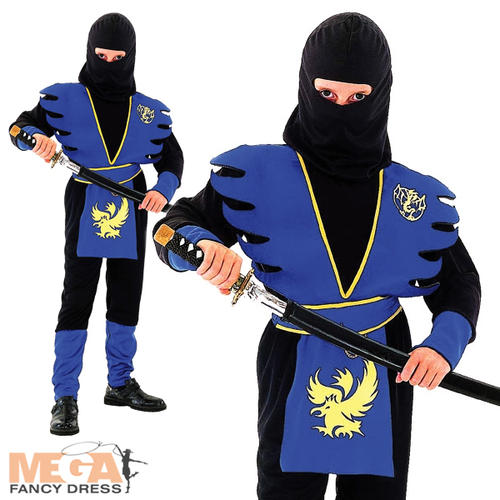 Ninja Costumes for Kids & Adults Because becoming a ninja takes time, quickly dress the part with ninja costumes for boys, girls and adults that are stealthy, stylish and ready to wear this Halloween.
