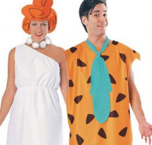 Fred + Wilma The Flintstones Fancy Dress Couple Carton Mens Ladies Costume  sc 1 st  eBay & Fancy dress ideas. collection on eBay!