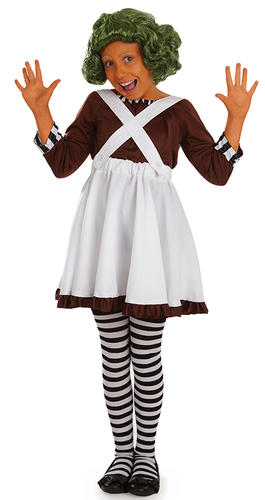 Charlie /& The Chocolate Factory Kids Fancy Dress Book Character Children Costume