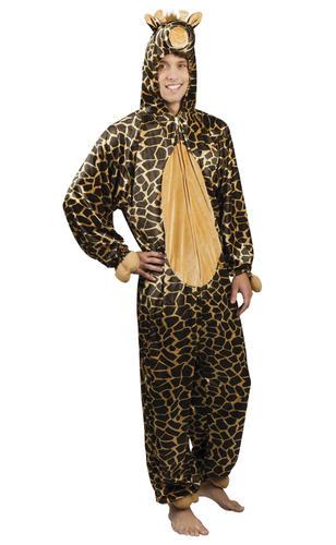 Giraffe Tutina Adulti Costume Animali Safari Libro Settimana Costume Da Uomo Donna