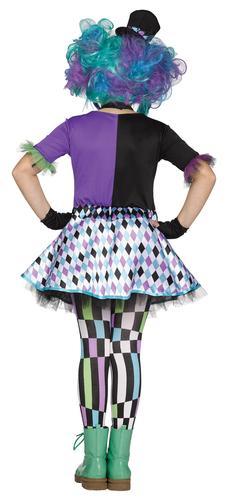 Mad Hatter Girls Fancy Dress World Book Day Fairytale Kids Childrens Costume New