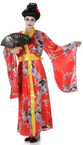 Talk, Womens costumes outfits geisha dress