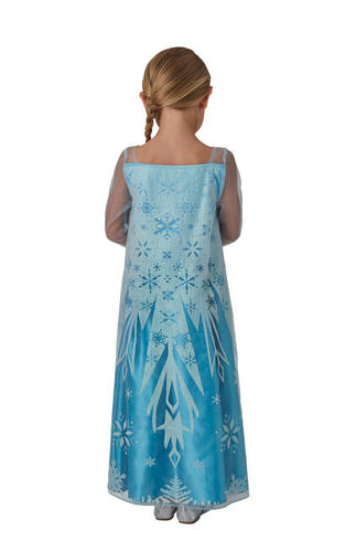 Elsa Girls Fancy Dress Kids Ice Queen Disney Princess Childs Costume Outfit New