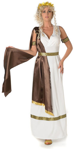 Roman Empress Ladies Ancient Greek Goddess Historical Rome Womens Adults Costume