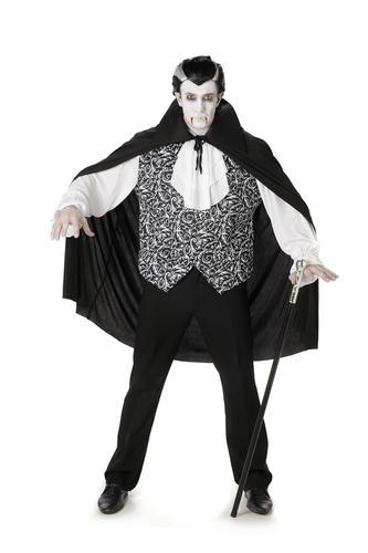 Royal Vampires Adults Fancy Dress Spooky Dracula Womens Mens Halloween Costumes