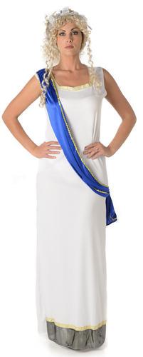 Déesse romaine femme déguisement grec antique Athena Femme Adultes costumes New