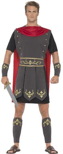 Roman Gladiator Mens Fancy Dress Ancient Greek Warrior ...