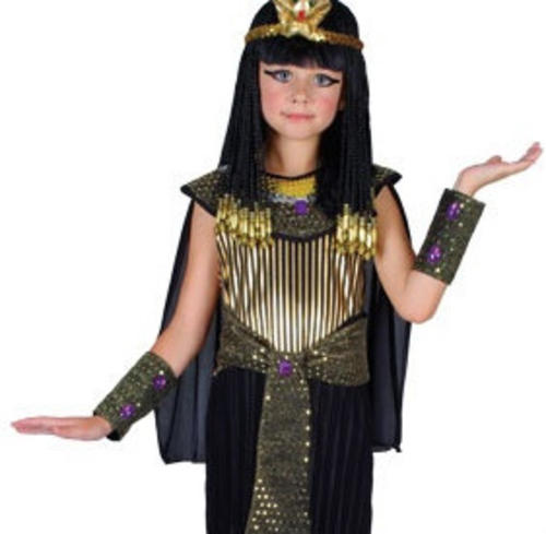 queen cleopatra dress headpiece girls fancy dress egyptian - Egyptian Halloween Costumes For Kids