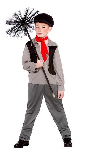 Vittoriano Spazzacamino Ragazzi Costume Libro Settimana Costume Bambino Lavoratore Kids