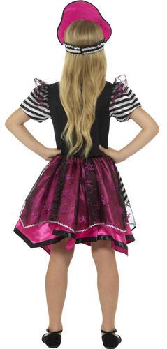 Caribbean Buccaneer Pirate Girls Fancy Dress Book Day Week Kids Childs Costume