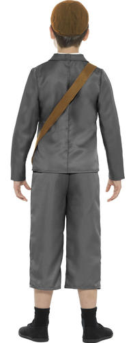 Wartime Boys Fancy Dress 40s 30s History Britain Book Day Kids Childs Costumes