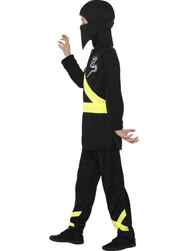 Ninja Assassin Boys Fancy Dress Japanese Samurai Warrior Kids Childrens Costumes