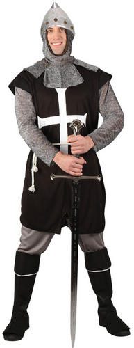 Knight Mens Fancy Dress Fairy Tale Medieval Book Day St George/'s Adults Costumes