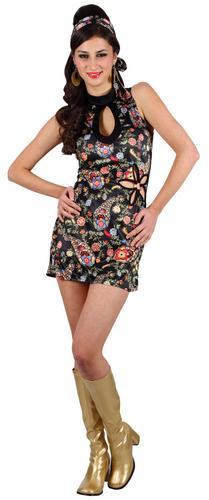 Retro-Hippy-Dress-Ladies-1960s-1970s-Ladies-Fancy-Dress-Costume-Outfit-UK-6-24