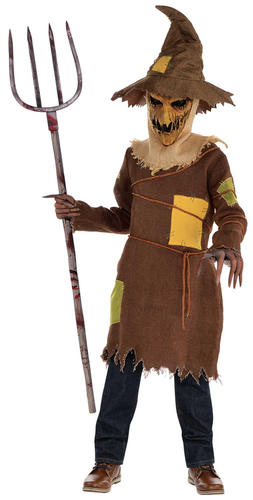 Spaventoso SPAVENTAPASSERI Ragazzi Costume Halloween Fiaba Costume bambino horror Kids