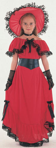 Scarlet-OHara-Girls-Book-Week-Victorian-Childrens-Fancy-Dress-Kids-Costume-4-12