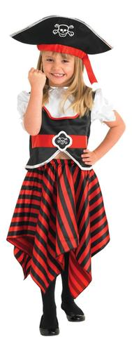 Pirate-Girl-Hat-Fancy-Dress-Book-Week-Child-Kids-Party-Costume-Outfit-Ages
