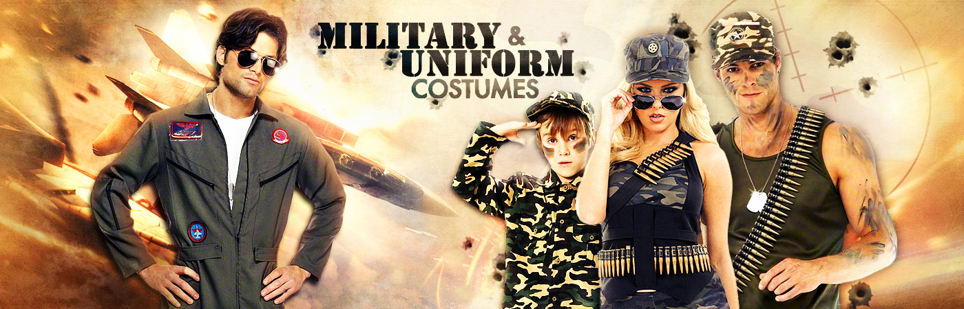 Military & Uniform Costumes