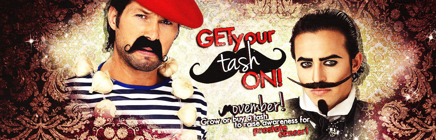 Movember Tashes