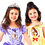 View Girls Disney Costumes