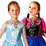 View Kids Frozen Costumes