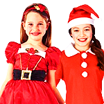 View Girls Santa Costumes