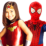 View Kids Superhero Costumes