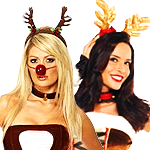 View Ladies Reindeer Costumes