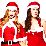 View Ladies Santa Costumes