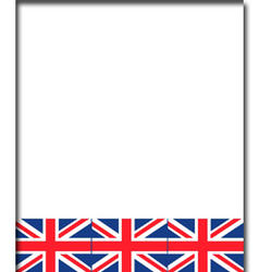 View Item Union Jack Flag Party Plastic Table Cover Party